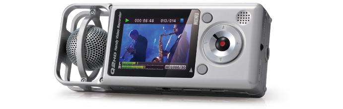 Zoom Q2hd高清音视频摄像机到货全球音兰 Midifan:我们关注电脑音乐