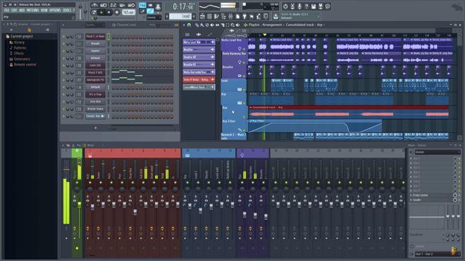 183 ƣfl Studio 12 Fl Studio 20 ԤʾŶʮ귢 Midifanǹע