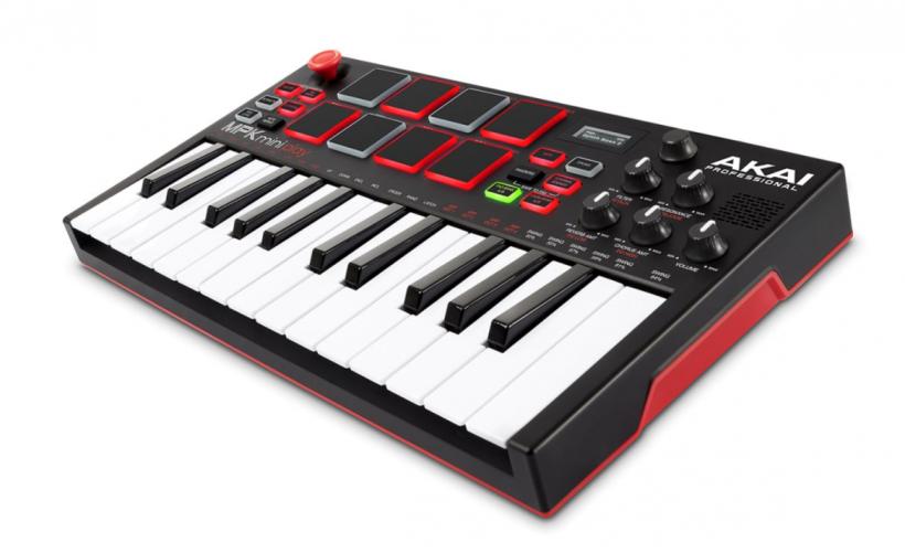midi合成器是什么_评测:AKAI MPK Mini Play MIDI 键盘合成器 - midifan:我们关注电脑音乐