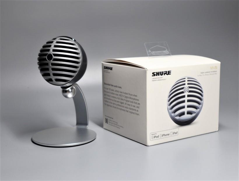 Shure MV5 电容式数字麦克风试用体验