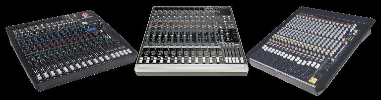 在 DAW 宿主软件中使用小型模拟调音台
