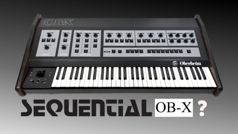 Sequential 已为 OB-X 申请了注册商标,是复刻经典还是进一步开发?