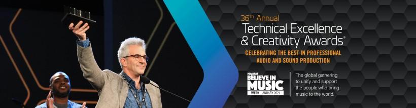 第 36 届 NAMM TEC 技术大奖获奖名单出炉