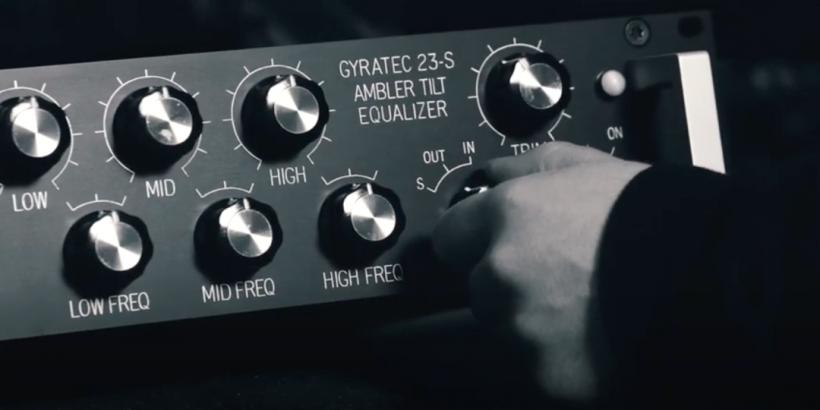 来自丹麦的 Gyraf Audio G23-S 倾斜式均衡器