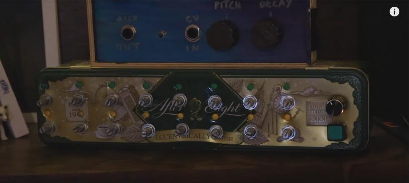 油管音乐人 Charis Cat 用 Max 和巧克力铁盒做了一个音序器,你也可以