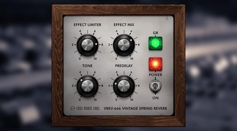 Fuse Audio Labs 的免费复古弹簧混响插件