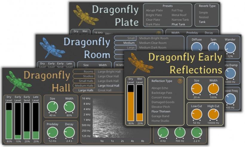 免费 + 开源 + 高质:Dragonfly Reverb