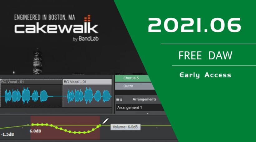 Cakewalk by BandLab 2021.06
