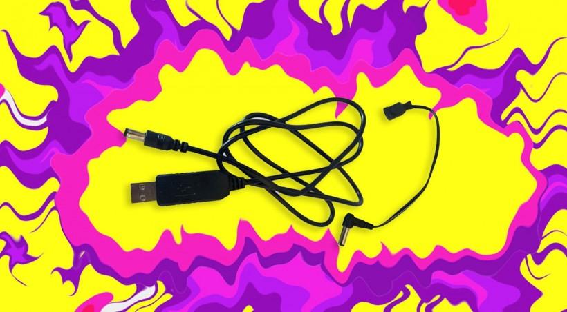 从一般的 5V USB 给你的 9V DC 合成器供电