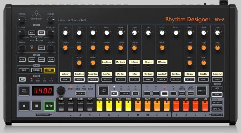 搬运工:Behringer 推出第二代 808「致敬」