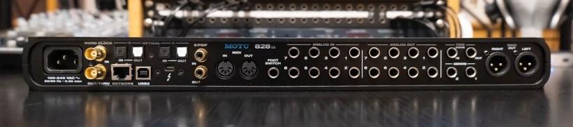 搬运工:声卡性价比之王 MOTU 828es 功能简评