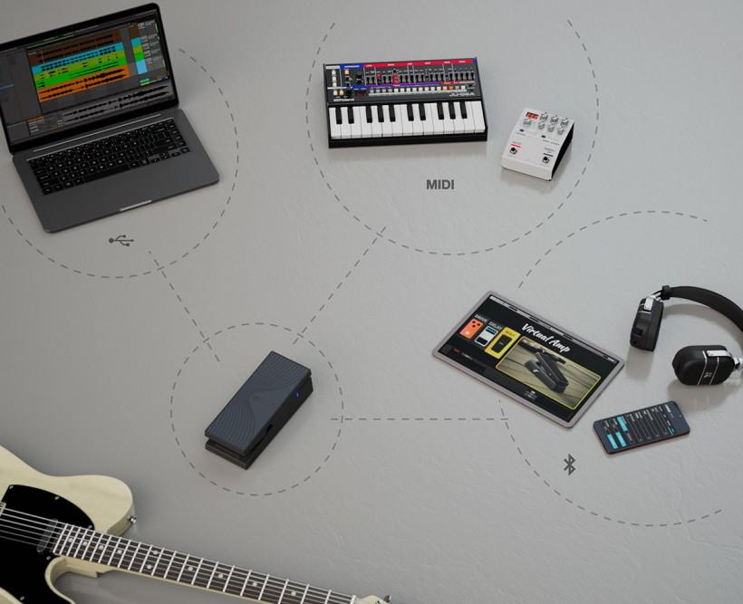 搬运工:Boss 无线 MIDI 表情踏板 EV-1-WL