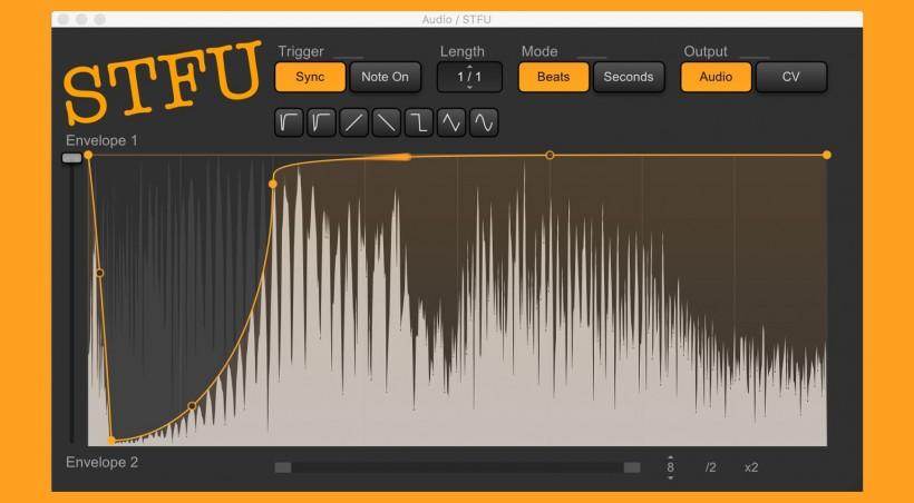 搬运福利:STFU 免费旁链音量包络插件下载