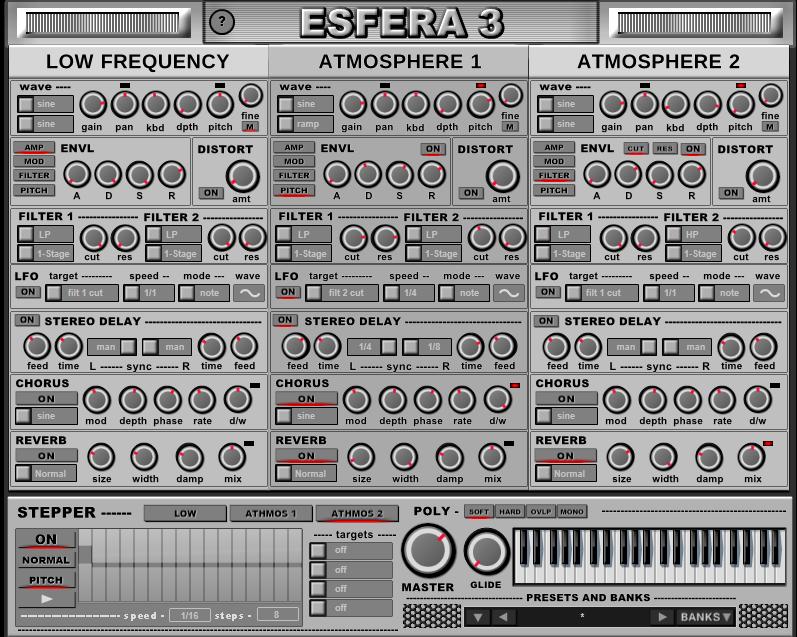 搬运福音:Esfera 3 氛围合成器插件