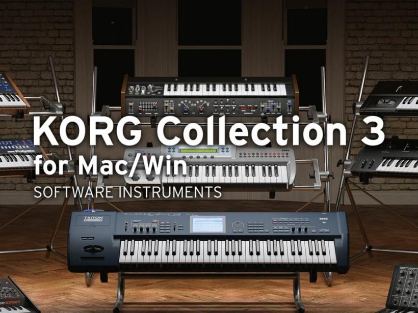搬运工:KORG Collection 3 新增三款合成器复刻