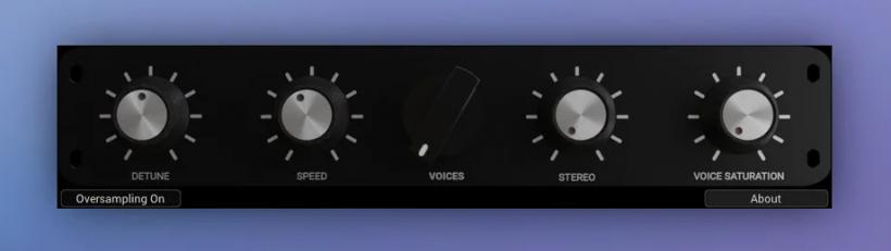 CVoice1免费音高调制效果器插件