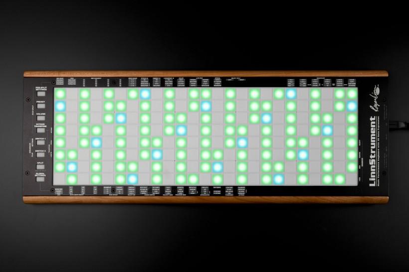 革命性的多复音触控乐器 LinnStrument 再次上路