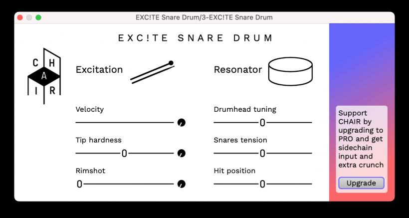 福利:EXC!TE Snare Drum 免费军鼓音源下载