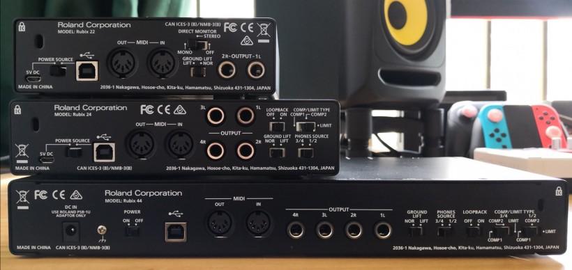 实打实的物美价廉:Roland Rubix 系列音频接口测评