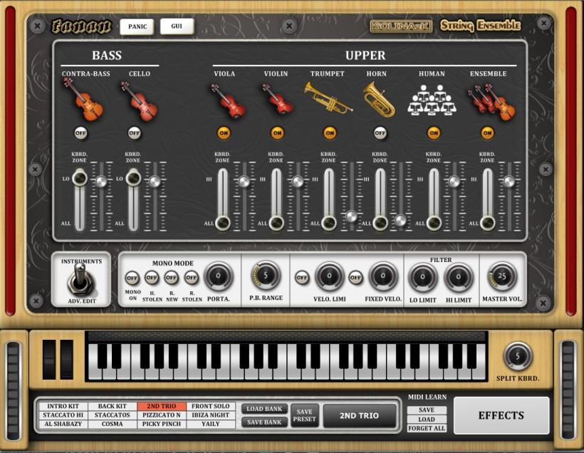 福利:Solina2K 弦乐合奏音源免费下载