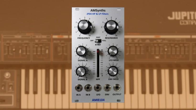 AM8104 将 Jupiter-4 滤波器变成模块
