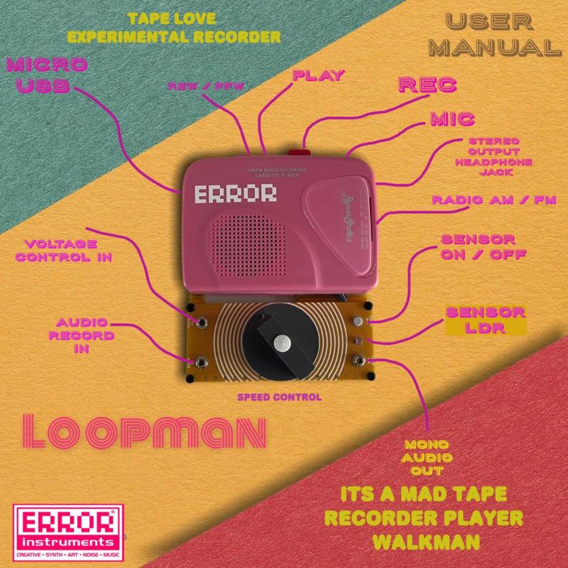 Loopman:一款可以倒转时间的磁带录音机
