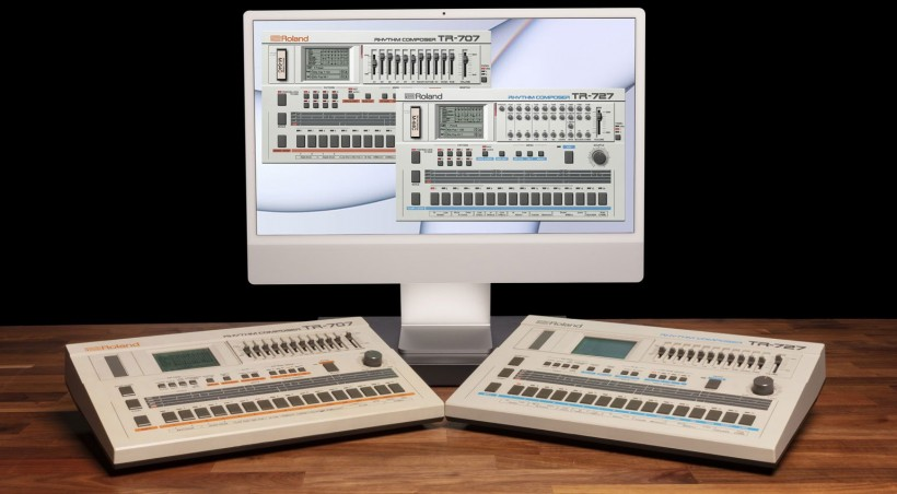 Roland 推出 TR-707 和 TR-727 复刻插件