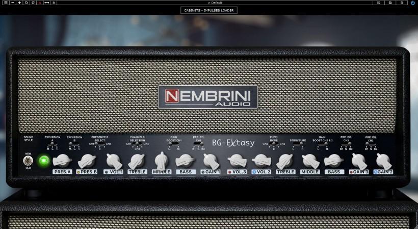 BG Extasy Boutique 吉他放大器模拟插件