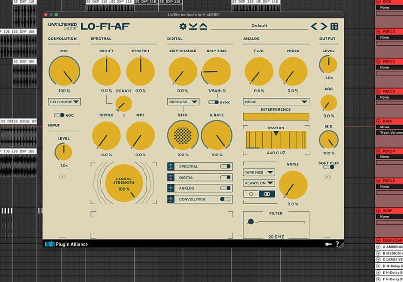 Unfiltered Audio 多种怀旧效果的插件