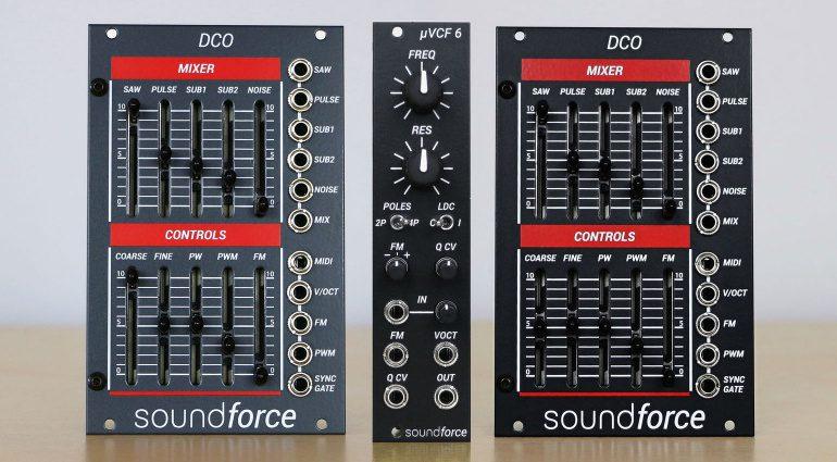 SoundForce 更新 Juno 模块