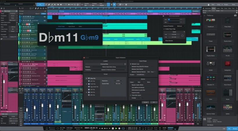 PreSonus Studio One 5.4 更新