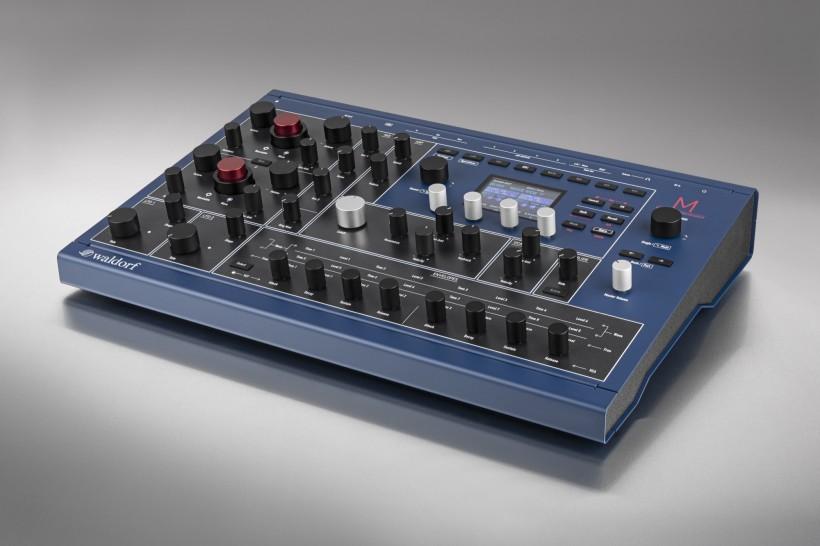 更现代的经典波表合成器 Waldorf M 正式发布