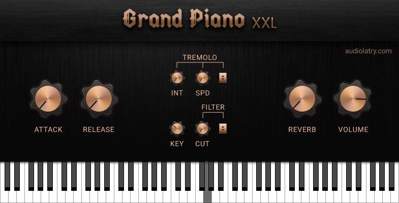 福利:Grand Piano XXL 免费三角钢琴下载