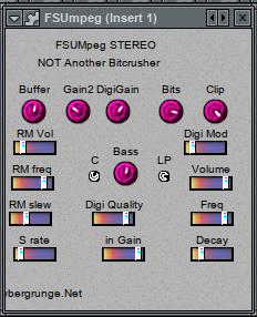福利:FSUMpeg 免费数字 LoFi 效果器插件下载