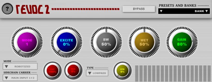 Psytrance Plugins REVOC 2 声码器