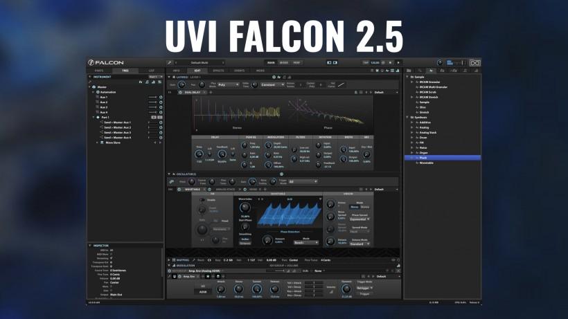 UVI Falcon 2.5 免费更新,支持 M1